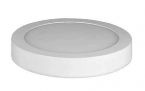 TOPE LIGHTING Modena LED påleggingslampe Ø220x27mm, 30W, 4000K, 2150Lm, IP44