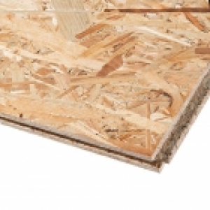 OSB 3 SUPERFINISH TG4 treplate med not og fjær 1250 x 2500 x 15mm (3.125m2)