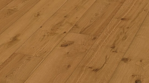 Golden brown rustic oak 2200x270x11mm (HD400) naturally oiled