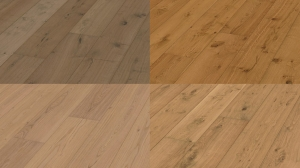 Authentic dry wood oak 2200x270x11mm (HD400) naturally oiled